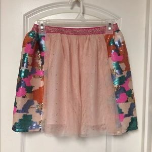 Cat & Jack Sequin Tulle TuTu Skirt